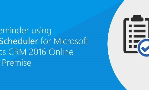 Event reminder for Microsoft dynamics crm