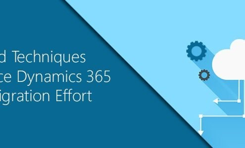 Tools and Techniques to Reduce Dynamics 365 CRM Cloud Migration Effort