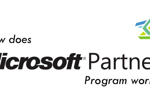 microsoft partner program works
