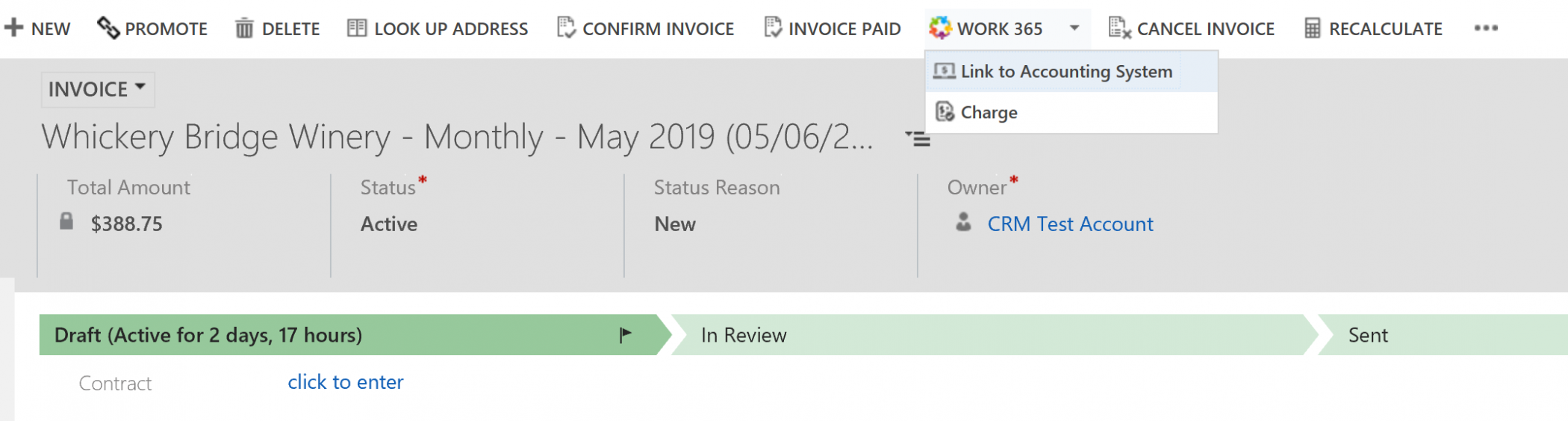 invoicing for csps